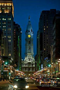Broad Street. Philadelphia, Pa.