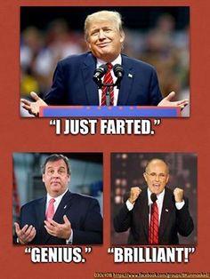 Chris & Rudy on the brilliant genius of Trump: