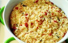 risotto ai pomodori secchi