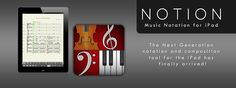 NOTION Music | Music Notation Software for Music Composition