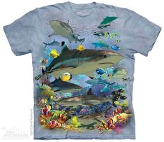 Fishing Tee Sizes S-5XL NEW Crappie T-Shirt by The Mountain