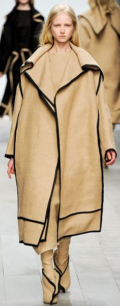 Jamie Cockerill CSM 2011 Summer Coats, Masculine Style, Central Saint Martins, Fashion Details, Fashion Design, Beige, Taupe, Fashion Show Collection, Karl Lagerfeld