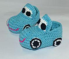 Araba Modelli Bebek Patikleri http://www.canimanne.com/araba-modelli-bebek-patikleri.html
