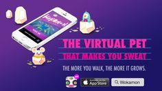 Wokamon: The virtual pet that makes you sweat