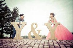 遠近法を使ったウェディングフォト・結婚式前撮り写真まとめ | marry[マリー]