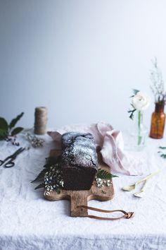 Buttermilk chocolate cake - Carnets Parisiens