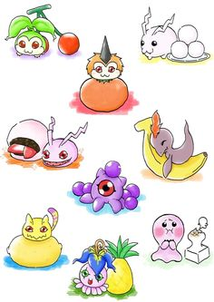 Digimon fruit