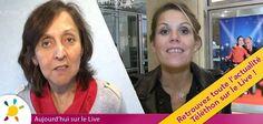 Découvrez aujourd'hui de nouvelles vidéos Téléthon sur le Live !    - Marisol Corral, de l'Institut de la vision, lance son appel et compte sur vous    - Laura Tenoudji, ou Laura du web, nous expose la forte mobilisation des partenaires web pour ce Téléthon 2012