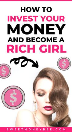 Learn how to invest in your 20s for beginners. Understand the importance of saving money and investing so you can become a rich girl! Get the best budget, money saving, and investing tips while you're financial planning for your future. Read more about the stock market, passive income ideas, and investing for beginners. Money matters for women. #investing #rich #wealth #richgirl #millionaire #money