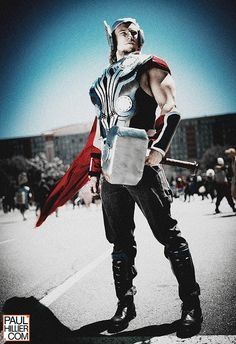 Thor #cosplay | Anime North 2013