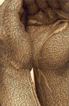 Quand le corps devient un support de caligraphie | Publiz - Inspiration graphique et publicité créative