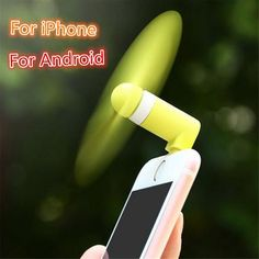 AutumnFall Summer Cactus Shape Portable USB Cooling Fan Handheld Mini Fan with 3 Adjustable Speeds Green