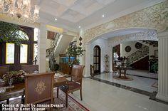 Interior Rumah Palem Semi