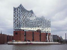La nouvelle philharmonie à Hambourg