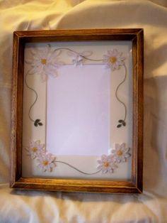 Wedding quilled display