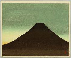 Maeda Masao: Mt Fuji in the Morning - Artelino Fuji, Painting, Art, Japanese Prints, Art Background, Painting Art, Kunst, Paintings, Performing Arts