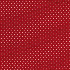 """Small Red Polka  1/8"""" dot"""