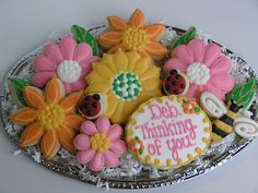 'Thinking of You' Cookies by East Coast Cookies, via Flickr