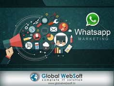 http://www.globalwebsoft.in/whatsapp_marketing.php #Bulk #WhatsApp #Text, #Images, #Audio, #Videos - #Marketing #Service Provider Company and to ensure maximum successful messages delivery within minimum timeframe.