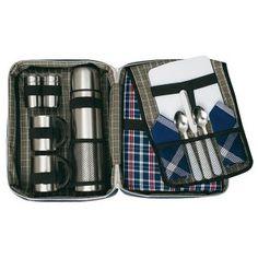 Java Flask and Blanket Set