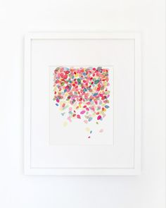 Colorful Dots Falling