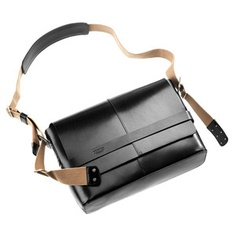 Barbican Messenger Bag Black, $500, now featured on Fab.