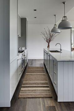 gray cabinets, kitchen ideas, simple, modern, class