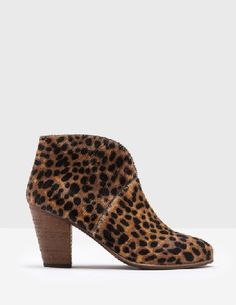 #Boden Marlow Ankle Boots Tan Leopard Women Boden, #Dress up everyday outfits with these heeled boots. Featuring a flattering V-cut and handy zip with a colourful grosgrain tie, theyre the perfect partners for skinny jeans, tunic dresses¦