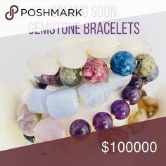 Gemstone Bracelets Gemstone Bracelets Handmade Jewelry Bracelets