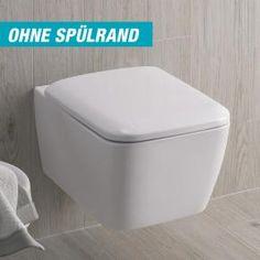 Keramag it! Wand-Tiefspül-WC L: 54 B: 35 cm, spülrandlos weiß mit Keratect