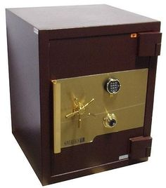 Able to endure attacks from powerful tools, high-security burglar safes and fire safes give your valuables the best protection. Get yours at Safe & Vault Store. Fireproof Waterproof Safe, Fingerprint Safe, Personal Safe, Safe Vault, Vault Doors, Security Safe, Wall Safe, Home Defense, Model