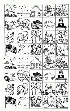 Bingo Squares | Mormon Share