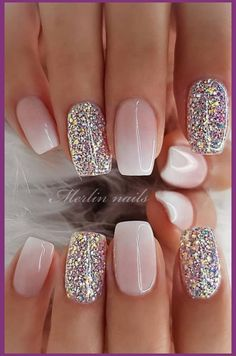29 awesome and cute summer nails design ideas and pictures for 2019 - page 6 of . - 29 Awesome and Cute Summer Nails Design Ideas and Pictures for 2019 – Page 6 of 28 – ROn – Ne - Chic Nail Designs, Cute Summer Nail Designs, Cute Summer Nails, Winter Nail Designs, Summer Design, Nail Ideas For Winter, Spring Nails, Designs For Nails, Cute Nails For Spring