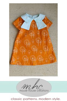 The Norah Dress and Tunic PDF Sewing by MouseHouseCreations