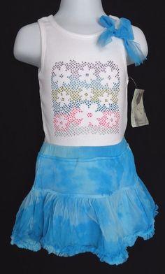 new NWT GYMBOREE girls PRETTY PEA Floral Ruched Blue Legging sz 3-6 mos,6-12 mos
