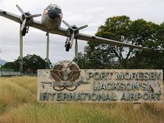 PORT MORESBY -  JACKSON AIRPORT ENTRANCE by communitysustainability-PNG, via Flickr