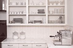 The Aestate: Open Shelving in the Kitchen