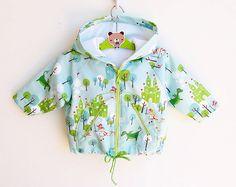 KNIGHT Hoodie Baby Boy Girl Jacket Raincoat sewing pattern