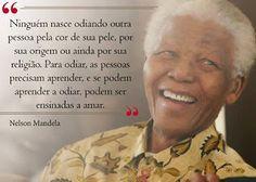 Saberes  & Sabores das diferenças: Dia de Mandela