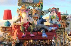 Il #Carnevale di #Viareggio, uno dei più importanti carnevali d'Italia e d'Europa ...