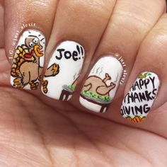 thanksgiving by just_alexiz #nail #nails #nailart