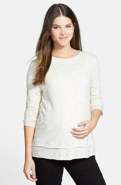 Women's Loyal Hana 'Christy' Long Sleeve Maternity/Nursing Top