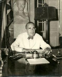 Presidente Ramón Grau San Martín - Cuba Cuban Culture, Puerto Rico, Fidel Castro, San Martin, Havana Cuba, Historical Photos, Country Of Origin, Vintage Photos, 1950s