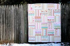 low volume quilt- full front