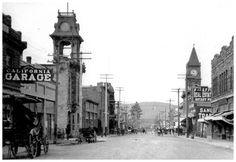 Higuera Street in San Luis Obispo.   Historic Vintage Undated Photo