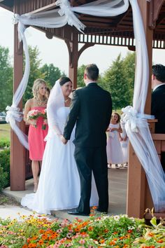 #Wedding vows are the sweetest moments! #bride #ido