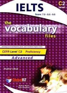 Download The vocabulary files C2 Level Student's Book with