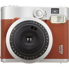 Fujifilm Fujifilm INSTAX Mini 90 Brown Instant Film Camera Brown