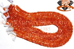 Carnelian Smooth Square (Quality B) Shape: Square Smooth Length: 36 cm Weight Approx: 11 to 13 Grms. Size Approx: 3.50 to 5 mm Price $7.28 Each Strand