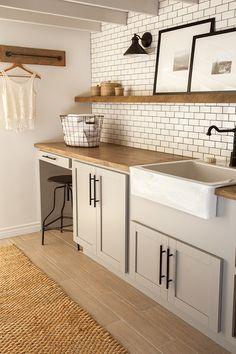 De sótano oscuro a lavandería con todos los detalles   Decorar tu casa es facilisimo.com
